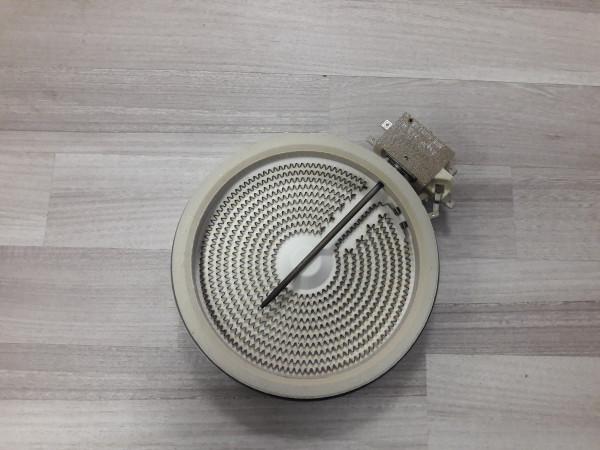 Seppelfricke,EK6300-1,Strahlenheizkörper,165mm,gebraucht,Ceranfeld,Kochfeld,Ersatzteil,Erkelenz